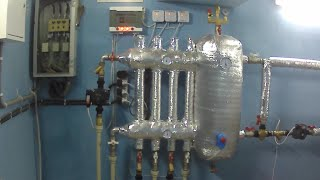 Схема  монтажа системы отопление. Инструктаж.