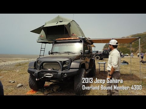 Team Hunt Jeep Wrangler Sahara Rig Walk Around