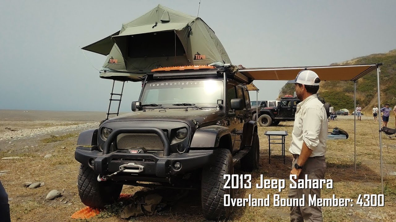 Team Hunt Jeep Wrangler Sahara Rig Walk Around Youtube