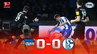 Bundesliga HERTHA BERLIN VS SHALKE 04 Resumen 31 1 20