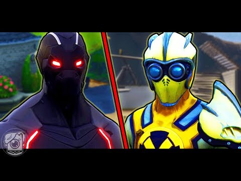 IF OMEGA FIGHTS VENTURION - A Fortnite Short Film
