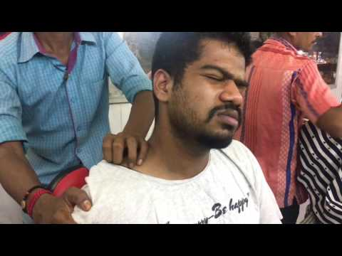 $1 Best Indian Head Massage|Neck Crack|ASMR