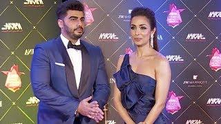 Malaika Arora With Her Rumoured Boyfriend Arjun Kapoor At Femina Beauty Awards 2018 Red Carpet