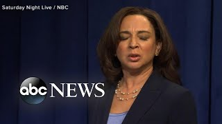 Maya Rudolph's best 'SNL' moments as Kamala Harris