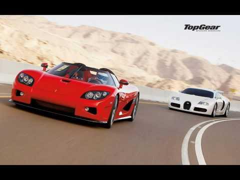 bugatti veyron vs koenigsegg ccx HD