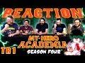 My Hero Academia [English Dub] Season 4 | Official Trailer REACTION!!