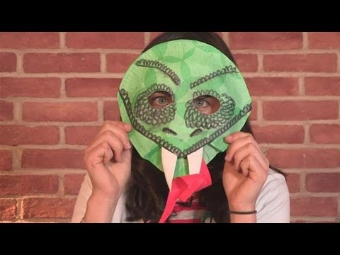 How To Make A Snake Mask