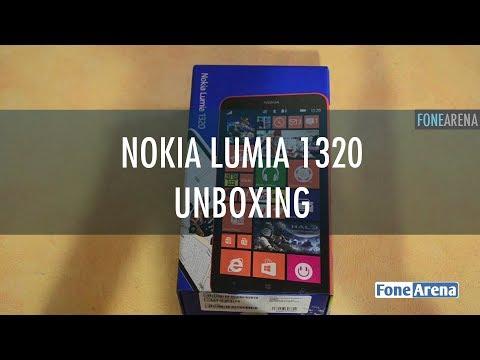 Nokia Lumia 1320 Unboxing