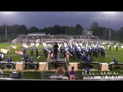 Worthington Kilbourne High School Marching Band 9-17-2016