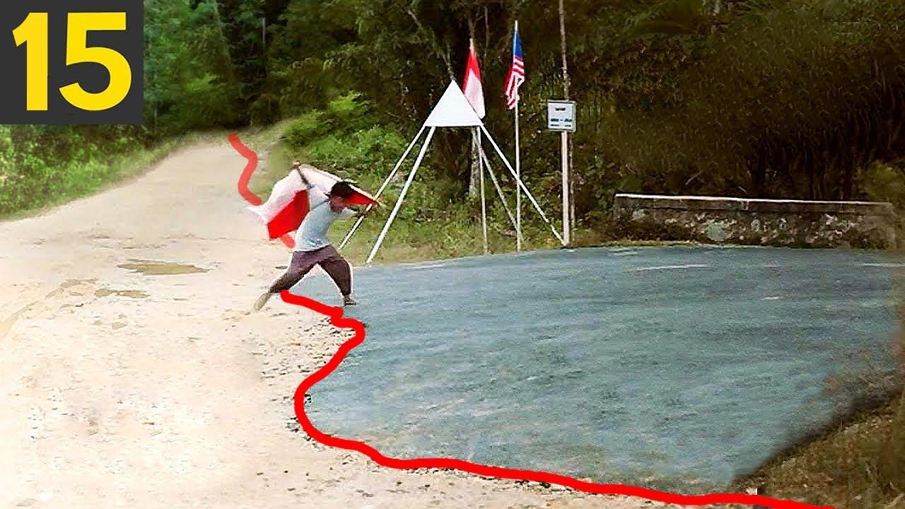 Download 15 Most Unusual Borders