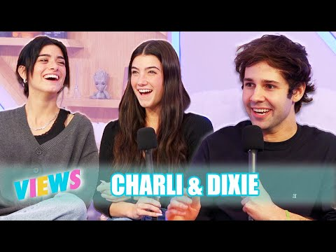 CHARLI AND DIXIE ON BEING FAMOUS SISTERS!! - VIEWS