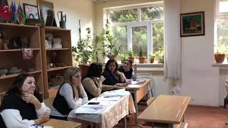 Баку Школа 279. Открытый урок Сафарли Нармин по Истории Азербайджана в 7Д часть 1