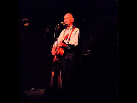 """Paul Kelly sings """"From Little Things Big Things Grow"""" at Cafe Du Nord, San Francisco, Feb 2, 2013."""