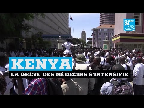 KENYA - La grève des médecins s