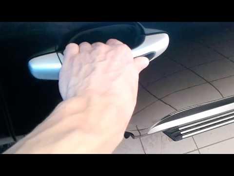 Porsche Cayenne (Порше Кайен): Как открыть заднюю пассажирскую дверь