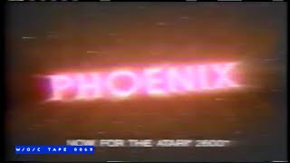 Phoenix Atari Game Commercial - 1986