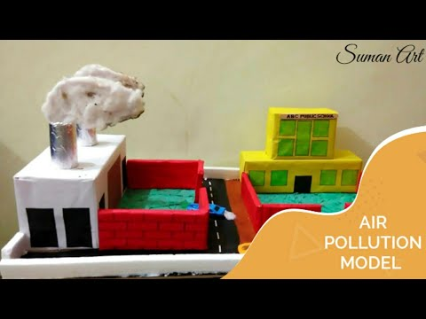 How to make a air pollution model; for school project
