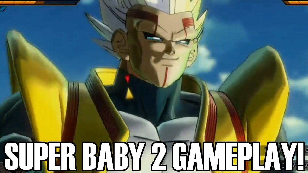 (BRAND NEW) SUPER BABY 2 DLC 7 GAMEPLAY!!! Dragon Ball Xenoverse 2 DLC Pack 7 Super Baby 2 Gameplay!