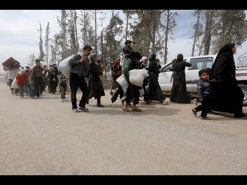 بدء سريان الاتفاق الموقع بين جيش الإسلام والروس في مدينة دوما  - 10:21-2018 / 4 / 14