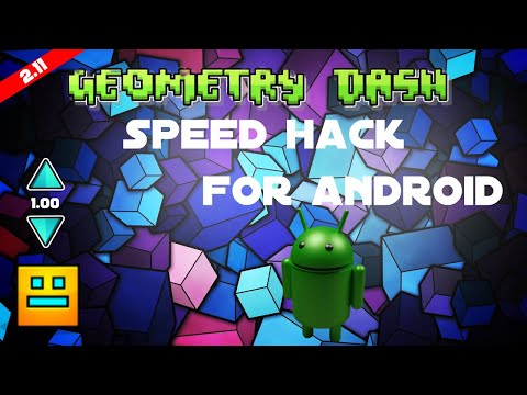 FREE Download Geometry Dash 2.11 Speed Hack For Android NO ROOT (TUTORIAL)
