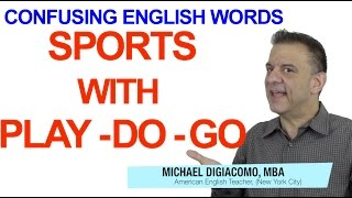 Play Go Do to Talk About Sports & Sport In English