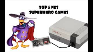 Top 5 NES Superhero Games - Retro Lukman
