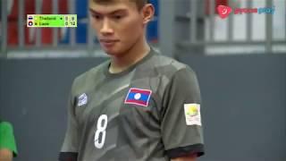 ตะกร้อ 4 คนชาย | ไทย พบกับ สปป.ลาว | กีฬามหาวิทยาลัยอาเซียน 2018