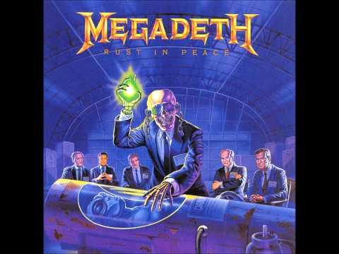 Megadeth Tornado of souls Backing Track (with vocals)