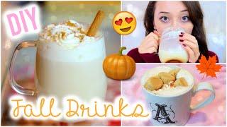 Diy Fall Drinks: Starbucks Pumpkin Spice Latte & Cinnamon Chai Tea
