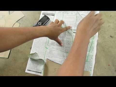 How to Cutting Katori Blouse Pattern part 1 of 2