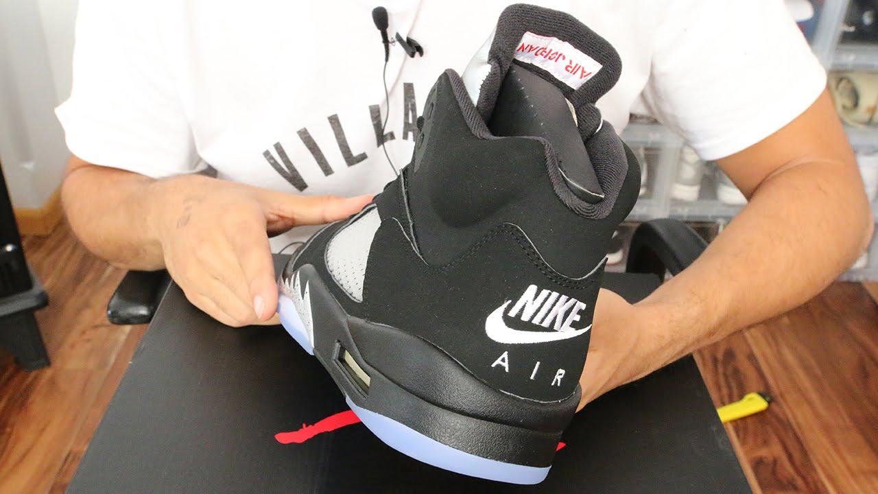 48bb99f2dbb7 Air Jordan 5 OG Black Metallic First Thoughts!! - YouTube