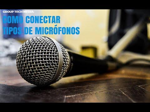 Como conectar un micrófono alámbrico e inalámbrico a tu pc ...