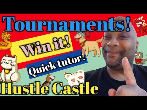 Tournaments! | Learn How To Earn Big Points In Under 5 Minutes! | Quick Tutor | Hustle Castle |