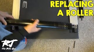 How To Replace Treadmill Rear Belt Roller (Noisy Worn Bearings)