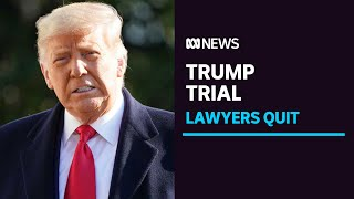 Donald Trump reportedly parts with impeachment lawyers a week before trial | ABC News