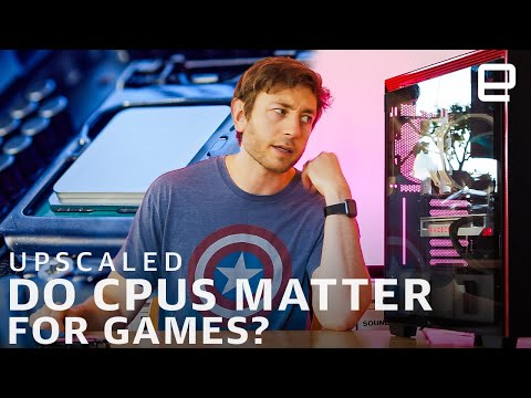 How much does CPU speed matter for games? Intel i9-10900K vs AMD Ryzen 3 3300X | Upscaled