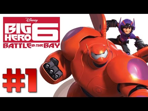 Big Hero 6: Battle in the Bay - Part 1 (Nintendo 3DS Gameplay, Commentary)