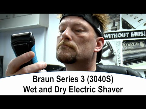 Braun Series 3 3040S Electric Shaver Unboxing and Full Review