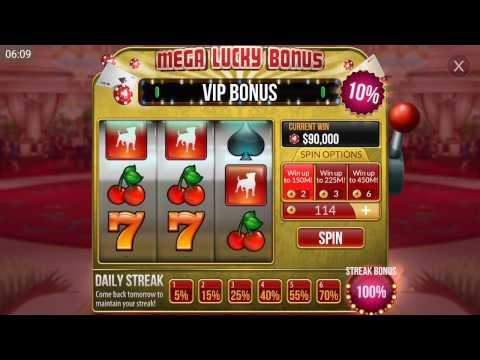 200 GOLD - Spinning Lucky Bonus - BIG WIN! - Zynga Texas HoldEm Poker