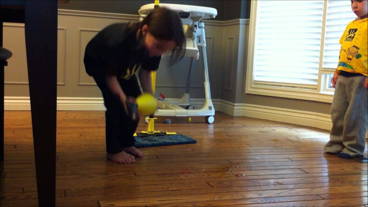 - Cleaning A Sticky Floor With The ENJO Floor Cleaner System. - YouTube