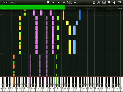 Kelly Clarkson  My Life Would Suck Without You Synthesia