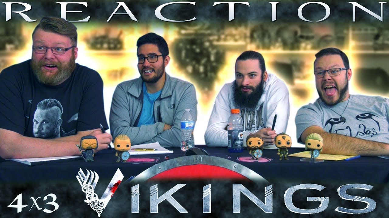 "Download Vikings 4x3 REACTION!! ""Mercy"""