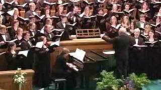 Brahms: How Lovely Is Thy Dwelling Place (The Hastings College Choir)