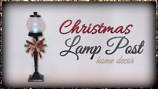 Christmas Lamp Post Home Decor