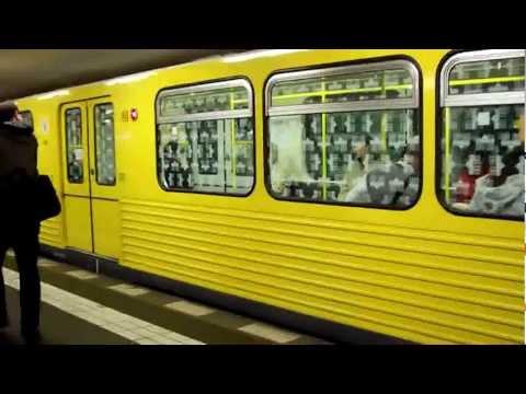 U-Bahn/ Metro in Berlin, Germany