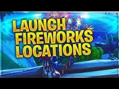 Launch Fireworks Season 7 Week 4 Challenges Guide Fortnite Youtube