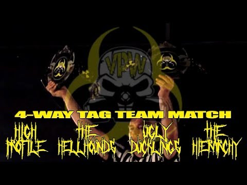 4-Way Tag Team Championship Match (Viral Pro Wrestling; 8-12-2017)