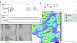 كيفية إنشاء الطبقات PDF في Excel الخرائط الإلكترونية