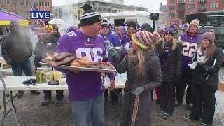 This Is What A True Vikings Tailgate Party Looks Like…