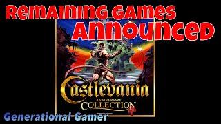 Konami 50th Anniversary - Castlevania Collection